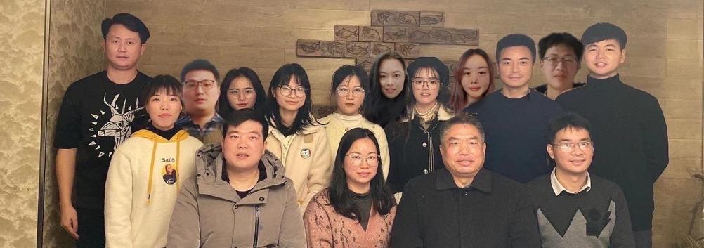 中国全民健心网、健心学堂编辑部合影 2020.12